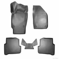 Unidec Gumové autokoberce přesné 3D Škoda Fabia III (NJ) 3D (2014)