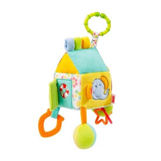 Nuk Detská plyšová hračka NUK Domček Multicolor