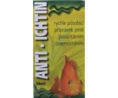 Kraftika Anti-ichtin 50ml, hű-ben, léky a hnojiva, akvaristika