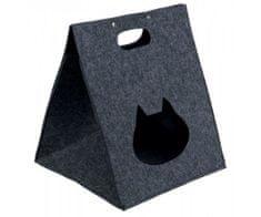 Trixie Plstěný box/jeskyně antonia 40x48x40 antracit, pelíšky