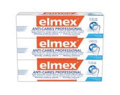 Elmex Zubní pasta Anti Caries Protection Professional 75 ml tripack