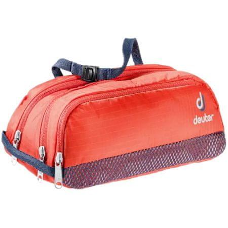 Deuter Wash Bag Tour II toaletna torba, 1 l, rdeča