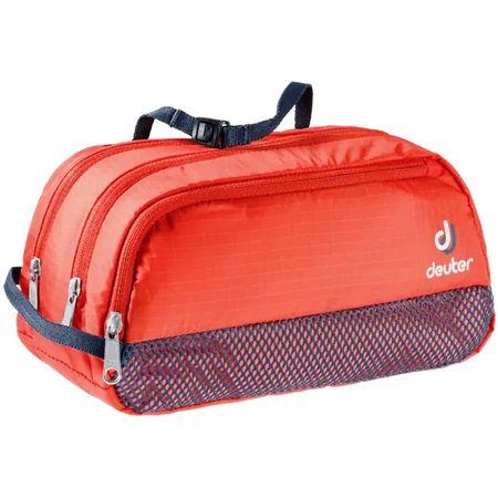 Deuter Wash Bag Tour III toaletna torba, 2 l, crvena