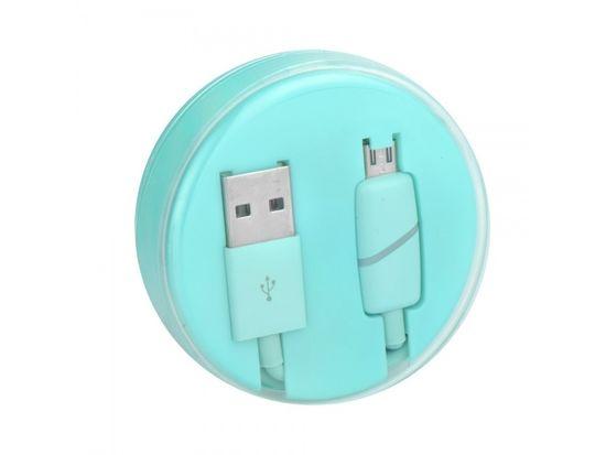 Tel1 Kabel micro USB 1metr BOX-7X Ring mátová 5901737852816