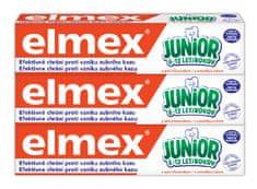 Elmex Zubná pasta Junior 75 ml tripack