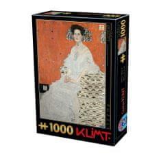 D-Toys Puzzle 1000 dílků Gustav Klimt - Fritza Riedler