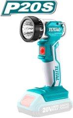 Total One-Stop Tools Světlo pracovní závěsné, 20V Li-ion, 2000mAh, industrial - bez baterie a nabíječky
