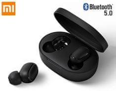 Xiaomi MI True Wireless Earbuds Basic S brezžične slušalke, črne