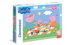 Clementoni Maxi Peppa Pig slagalica, 24 komada