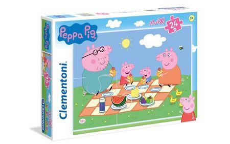 Clementoni Maxi Peppa Pig sestavljanka, 24 kosov