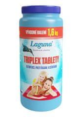 LAGUNA Tablety Triplex dezinfekce vody 3v1 - 1,6 kg