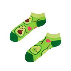 Dedoles Veselé ponožky Dedoles Avokádová láska krátké GMLS053 (Good Mood)