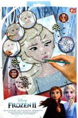 Canenco Obrázek s třpytivými flitry Frozen 2 Ledové království kreativní sada