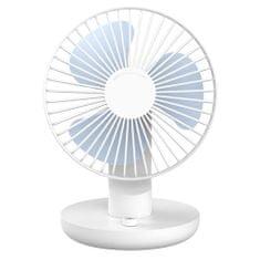 Vitammy mFAN Brezžični osebni ventilator, bele barve