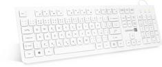 Connect IT kancelárska klávesnica, CZ/SK, biela (CKB-2101-CS)