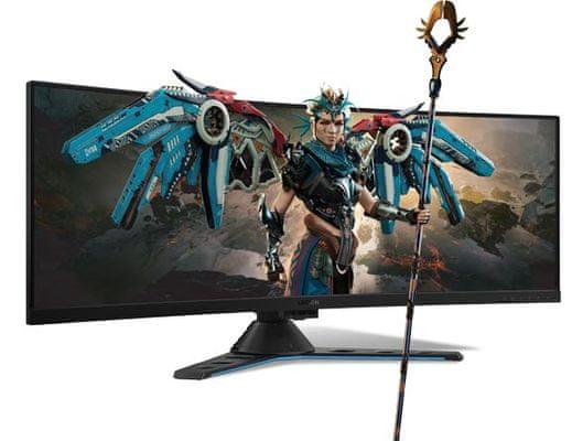 gaming monitor Lenovo Legion Y44w-10 (65F2RAC1EU) frissítési frekvencia 144 Hz válaszidő 4 ms SVA