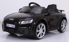 Eljet samochód elektryczny dla dzieci Audi RS TT czarny