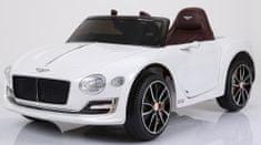 Eljet Detské elektrické auto Bentley EXP 12 biela