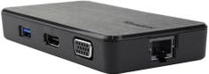 Targus Dokkoló állomás USB Multi-Display, USB, VGA, HDMI, GigE ACA928EUZ