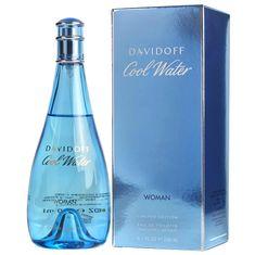 Davidoff Cool Water Woman toaletna voda, 200 ml
