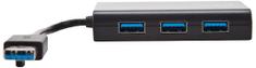 Targus USB Hub 3 × SuperSpeed USB 3.0 + 1 × 10/100/1000 ACH122EUZ