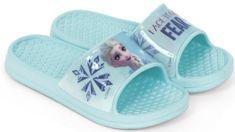 Disney dívčí pantofle Frozen WD13082_blue
