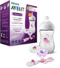 Philips Avent SCD287/25 komplet za bebe, boca + duda, 260 ml