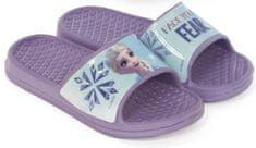Disney dívčí pantofle Frozen WD13082_violet