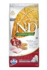 N&D LG DOG Puppy M/L Chicken & Pomegranate 12 kg