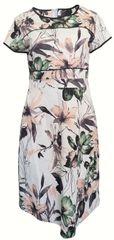 Sandro Ferrone Kvetované šaty Sandro Ferrone Biela XS