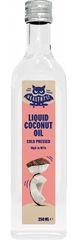 HealthyCo Tekutý kokosový olej za studena lisovaný 250ml