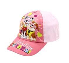 """SETINO Lány baseball sapka """"Mancs örjárat"""" SITIVE VIBES - világos rózsaszín"""