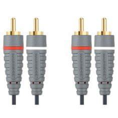 Bandridge 2x CINCH konektor - 2x CINCH konektor, 10m