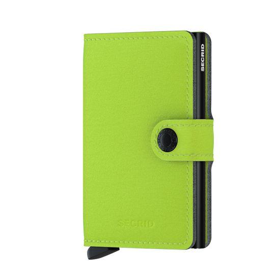 Secrid Peněženka SECRID Miniwallet MY-Lime SECRID