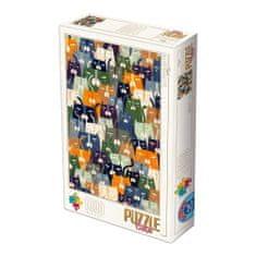 D-Toys Puzzle 1000 dílků Andrea Kürti - Cats