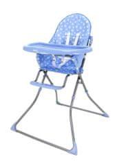 Asalvo Jedálenská stolička STARS QUICK blue