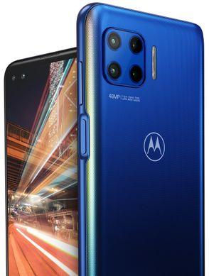 Motorola G 5G Plus, dlouhá výdrž velkokapacitní baterie rychlé nabíjení 20 W