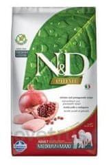 N&D PRIME DOG Puppy M/L Chicken & Pomegranate 2,5 kg