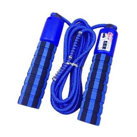 MG Skipping Counter ugrálókötél számlálóval, kék