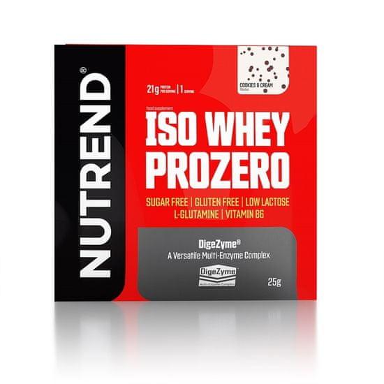 Nutrend ISO Whey Prozero 25g bílá čokoláda