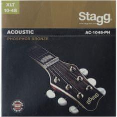 Stagg AC-1048-PH, sada strún pre akustickú gitaru, extra-light