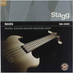 Stagg BA-4500, sada strun