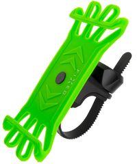 Fixed Silikónový držiak mobilného telefónu na bicykel Bike, limetková FIXBI-LI