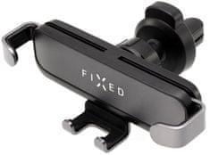Fixed Kompaktný univerzálny držiak Gravity s uchytením do mriežky ventilácie alebo na palubnú dosku, antracitová FIXH-GR-AN