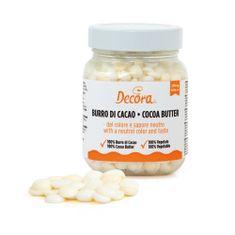 Decora Kakaové máslo v peckách 160g