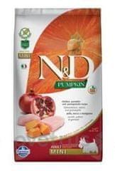 N&D Pumpkin DOG Adult Mini Chicken&Pomegranat 7 kg