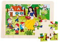 Woody Puzzle Snehulienka