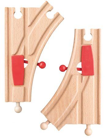 Woody Kiegészítők vasútmodellhez Kitérő K 2ks