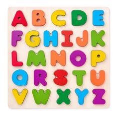 Woody Puzzle ABC betűk keretben