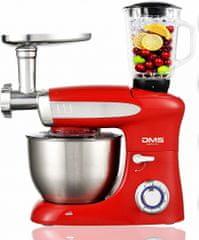 DMS Germany KMFB-1900R kuchyňský robot 3v1 1900 W - červená